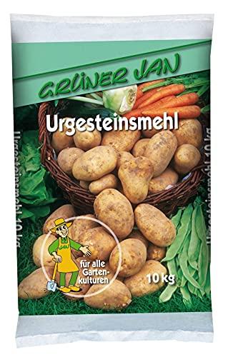 Grüner Jan Urgesteinsmehl 10kg Natursteinmehl Nährstoffe