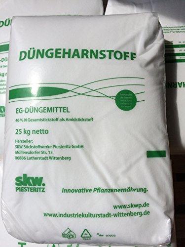 Düngeharnstoff 25 kg Harnstoffdünger Harnstoff 46 N Stickstoff UREA...