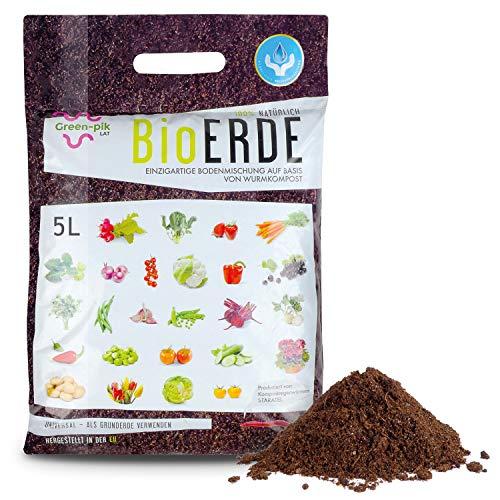 Green-PIK LAT BioERDE – Ökologisch Reiner Dünger I Nährstoffe für Obst,...