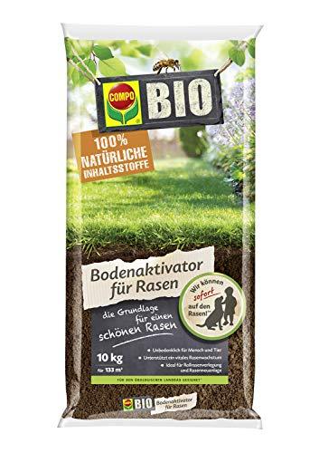 Compo Bio Bodenaktivator für Rasen, Ideal für Rollrasenverlegung und...