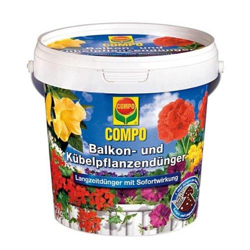 Compo Balkon- und Kübelpflanzendünger 1,2 kg