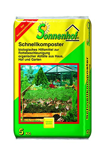 Sonnenhof® 5 kg Schnellkomposter Kompostbeschleuniger Komposthilfe Kompost...