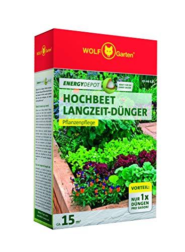 WOLF-Garten Hochbeetdünger Beetdünger, grün