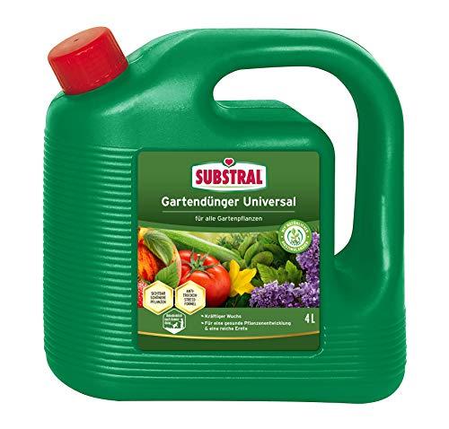 Substral Gartendünger Universal, Flüssigdünger für Blumen, Sträucher,...