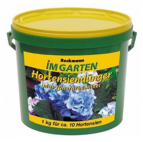 Hortensien Dünger + Blaufärbemittel 900 g Eimer Beckmann