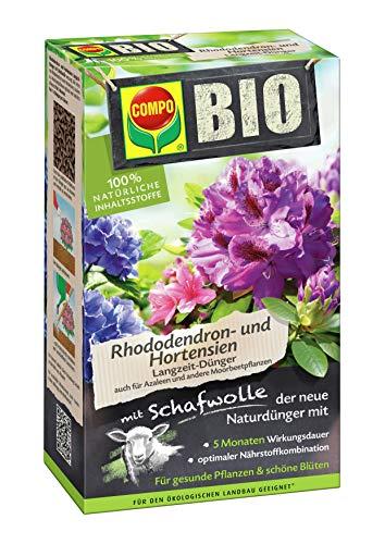 COMPO BIO Rhododendron Langzeit-Dünger für alle Rhododendren und andere...