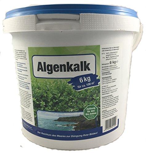 Algenkalk 6kg Buchsbaumretter - Zulässig für den Bio-Anbau - Buchsbaum Kur -...