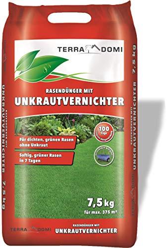 Schomaker Unkrautvernichter + Rasendünger, für Ihren Rasen und Garten, 7,5 KG...
