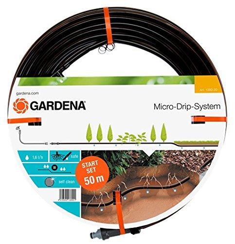 Gardena Start-Set Tropfrohr für Pflanzenreihen unterirdisch 13.7 mm:...