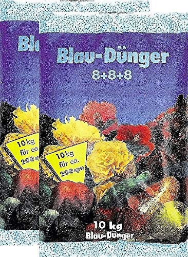 Blaudünger 10kg Gartendünger 8+8+8 Blaukorn Obst Gemüse