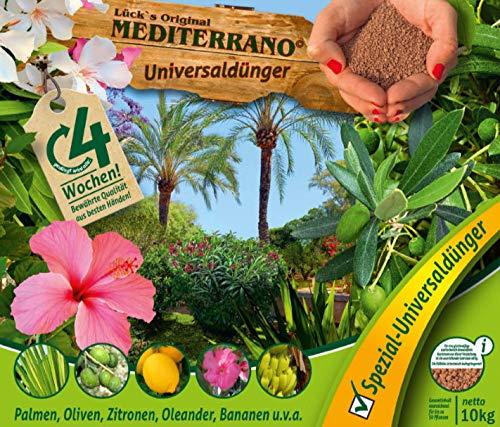 Lück´s original Mediterrano Universal Dünger 10 Kg für mediterrane Pflanzen,...