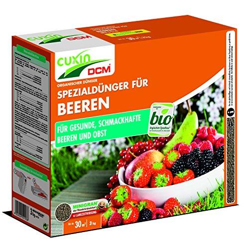 Cuxin Bio Obst und Beerendünger für ca. 30 m²⎜organisch gedüngt für...